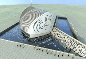 Arsitek Muda Indonesia: Contemporary Mosque:Dubai Mosque From the Heart,UEA