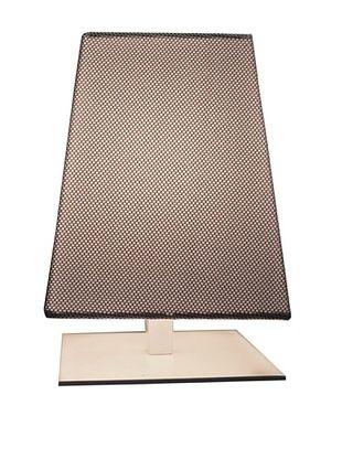56% OFF Contardi Quadra TA Kensington Table Lamp, Mesh Grey Fabric