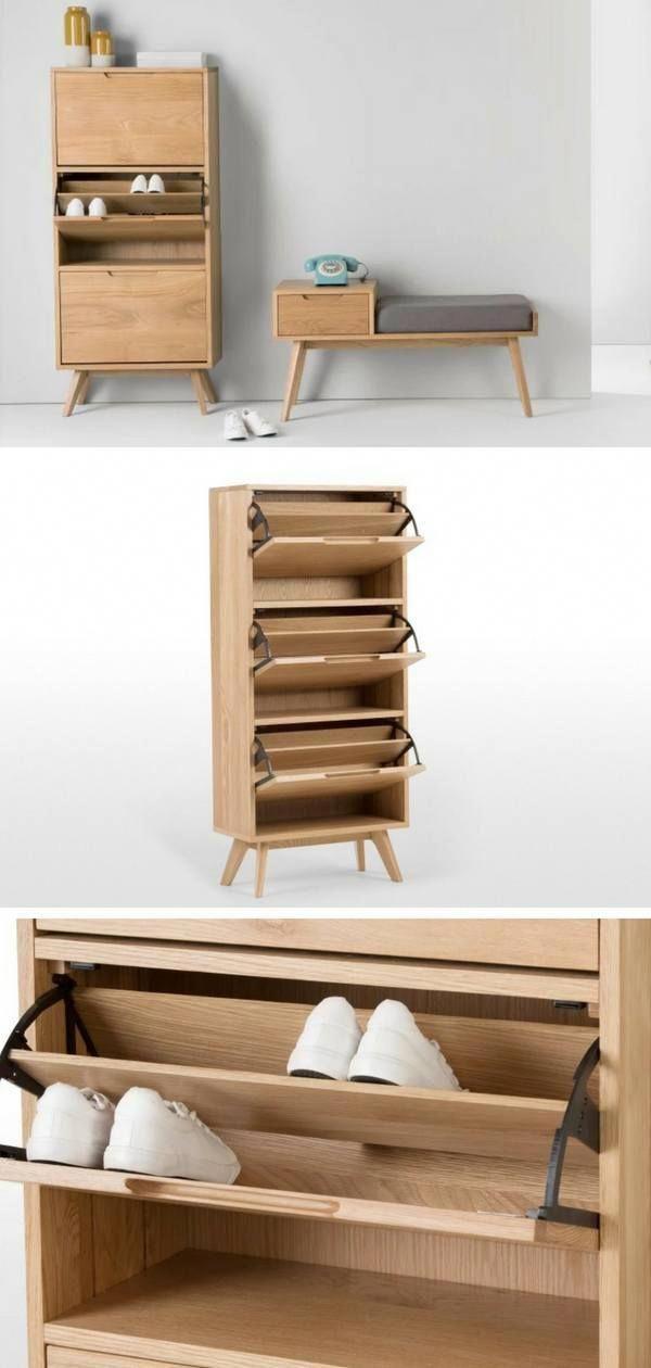 Meuble D Entree Design Un Meuble A Chaussures Scandinave Et Nordique Bricolagemaisonmeuble En 2019 Mobilier De Salon Meuble Entree Design Et Meuble Design