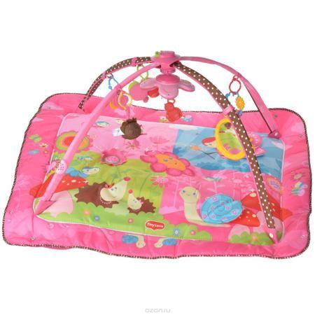 """Развивающий коврик """"Моя принцесса"""", 5 в 1, цвет: розовый  — 6091р.  Развивающий коврик """"Моя принцесса"""" станет первой площадкой для игр вашей малышки. Коврик """"Моя принцесса"""" - это сенсорный тренажер для ориентировки малыша в пространстве, насыщенный цветами, изображениями и объемными формами, также это чудесный мир персонажей, эмоционально близких маленькому ребенку. Прямоугольный набивной коврик выполнен из мягкого и приятного на ощупь материала с яркими цветными рисунками. На поверхности…"""