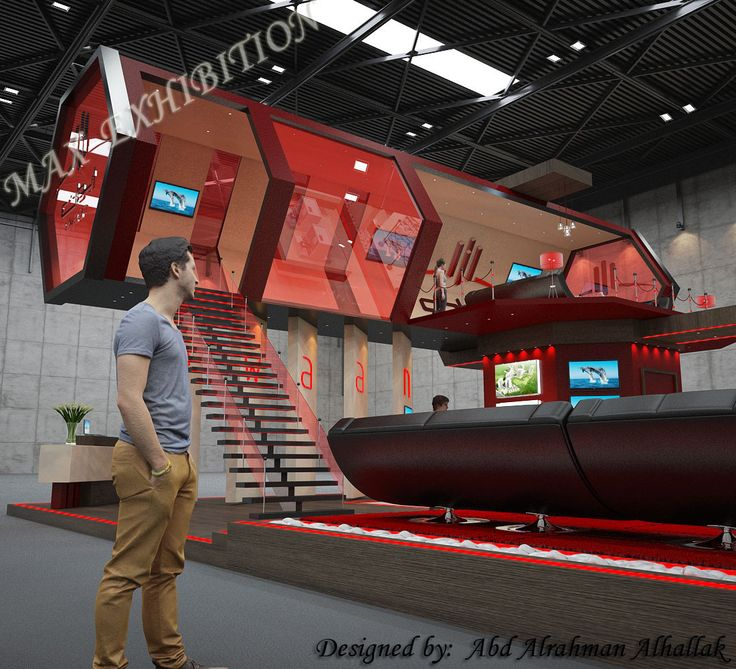 Stand exhibition...for EWAAN company
