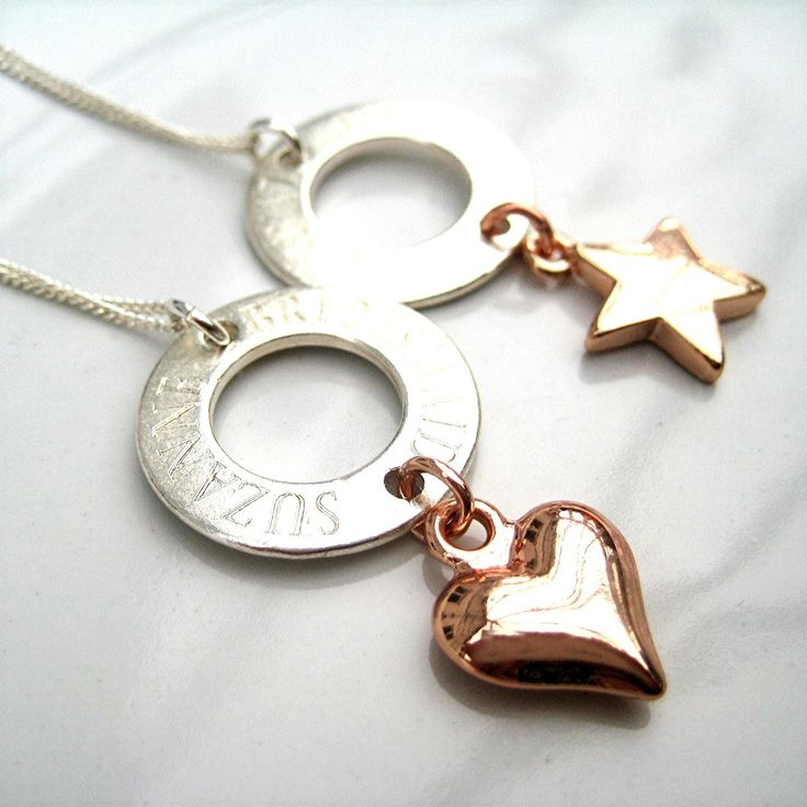 This lovely necklace is engraved with your choice of words in a circle on a 20mm matt metal disc charm & you have a great choice of silver plated charms to choose from making this a great gift for a young lady or women for a special 18th,21st or 40th birthday,Christmas,graduation,mothers day or a wedding gifts. Sterling silver chain length: 16 inches (41cm). Sent in a lovely velvet gift bag. Please note personalised items are handmade to order and therefore are non-refundable.