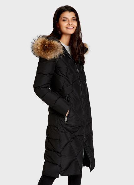 Купить Удлинённое пуховое пальто (LJ6R9H) в интернет-магазине одежды O'STIN