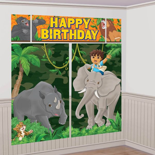 61 best foxes 3rd birthday images on pinterest birthdays for Go diego go bedding