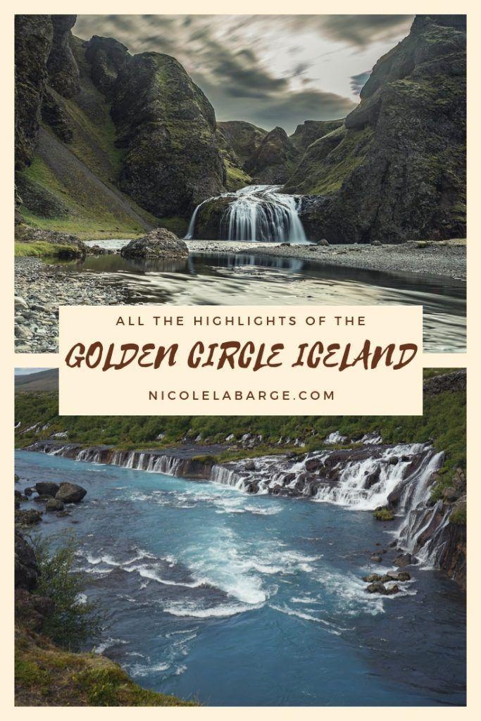 Map Golden Circle Iceland | Travel Europe | Iceland, Europe travel on