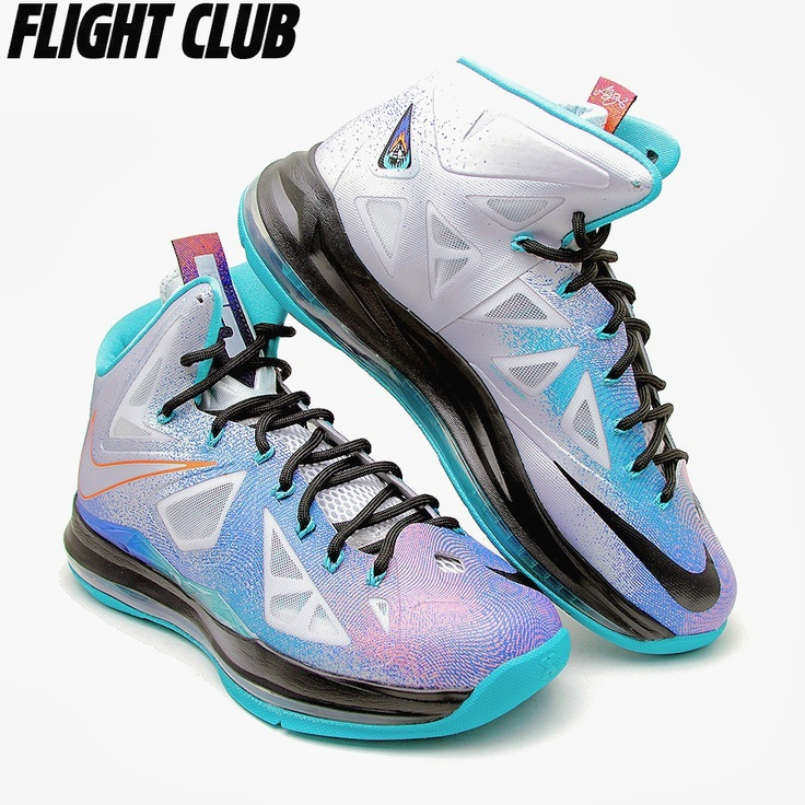 Nike LeBron X - Pure Platinum. Nike Shoes ...