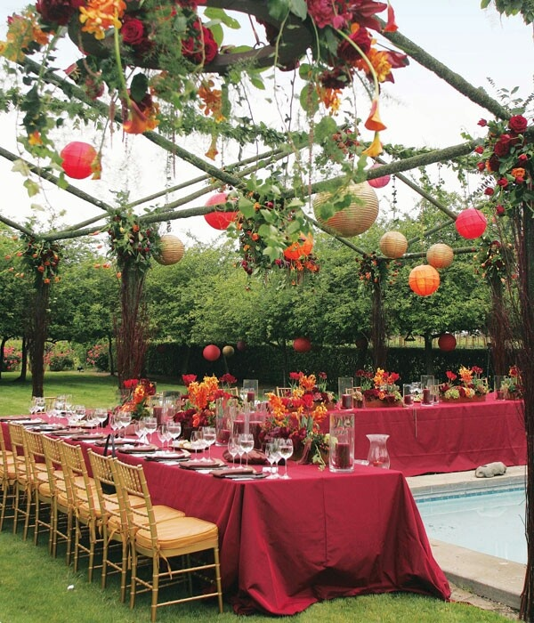 """Decorating Ideas For Backyard Wedding Reception: 17 Best Images About Fall """"Deck""""orating! On Pinterest"""