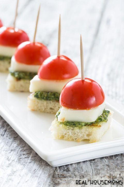 14 Amazing Appetizers For Your Baby Shower