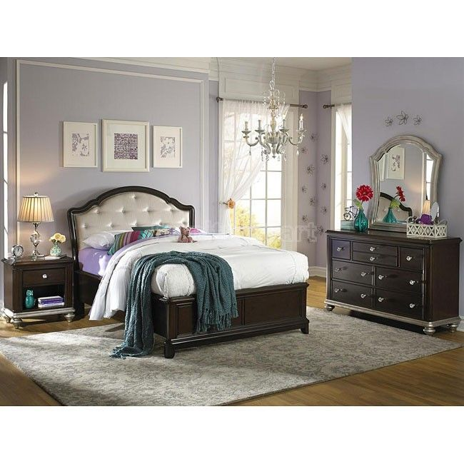 girls glam panel bedroom set samuel lawrence furniture furniture cart - Kids Bedroom Sets Under 500