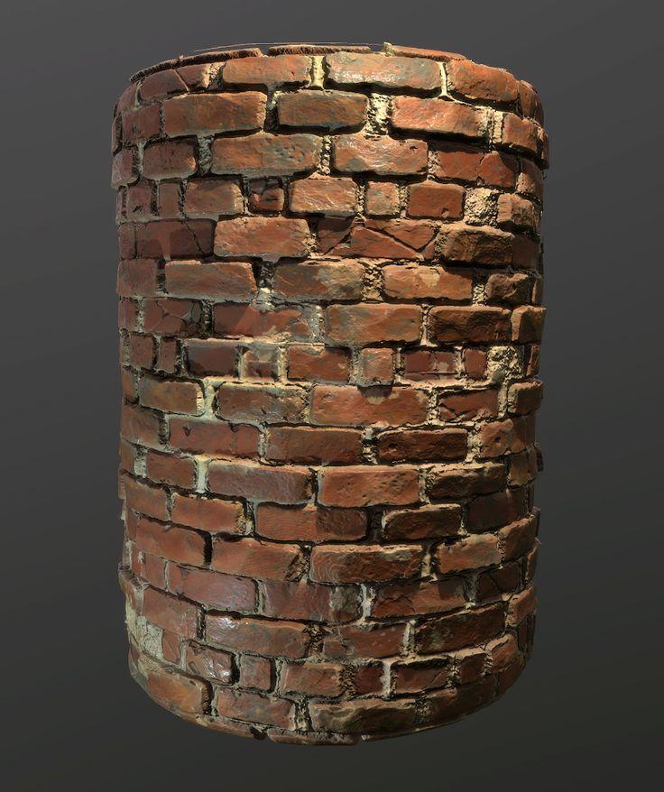 ArtStation - Procedural Brick Diorama Scene , Ben Keeling
