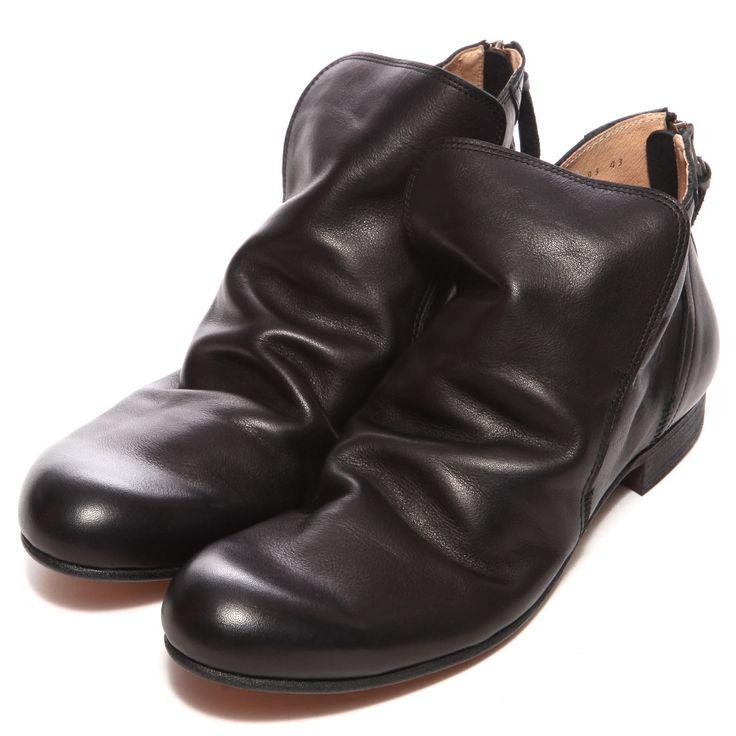 ヴァリジスタ VARISISTA ドレープブーツ(ブラック) -「買ってから選ぶ。」靴とファッションの通販サイト ロコンド