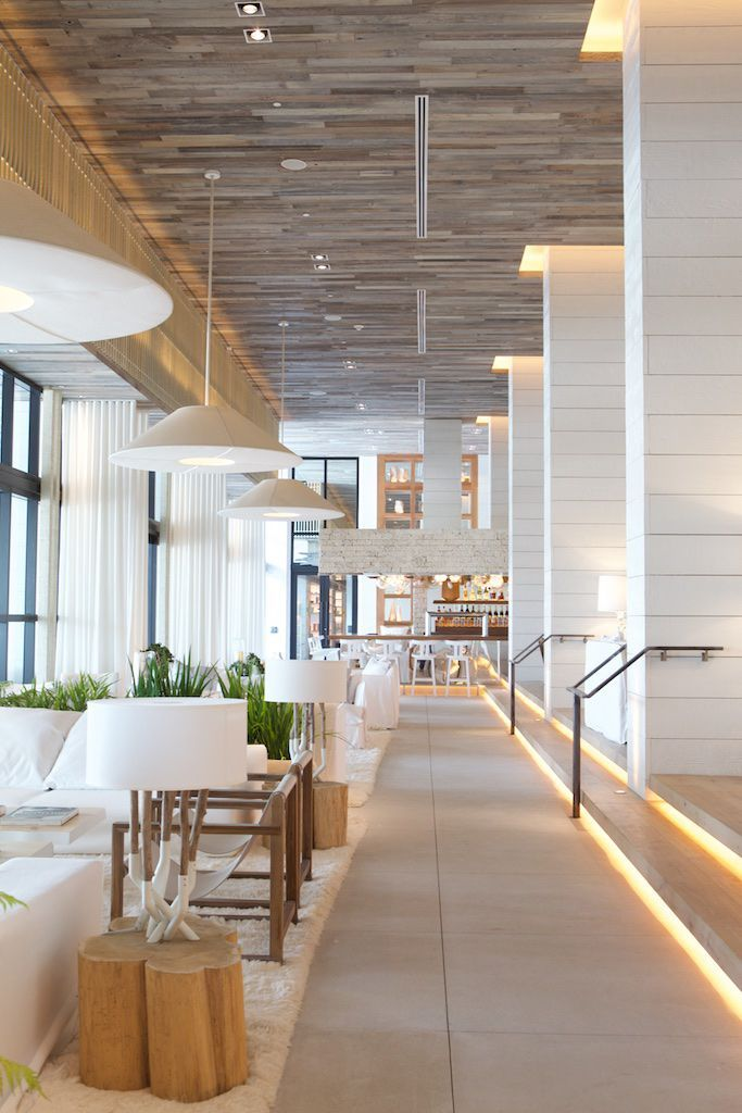 The luxe eco-resort, 1 Hotel, in South Beach, Miami, is a dreamy, green getaway. See the full spread and more photos in #Fanfair May 2015