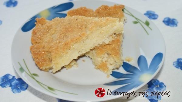 Cornbread, short #cooklikegreeks #cornbread