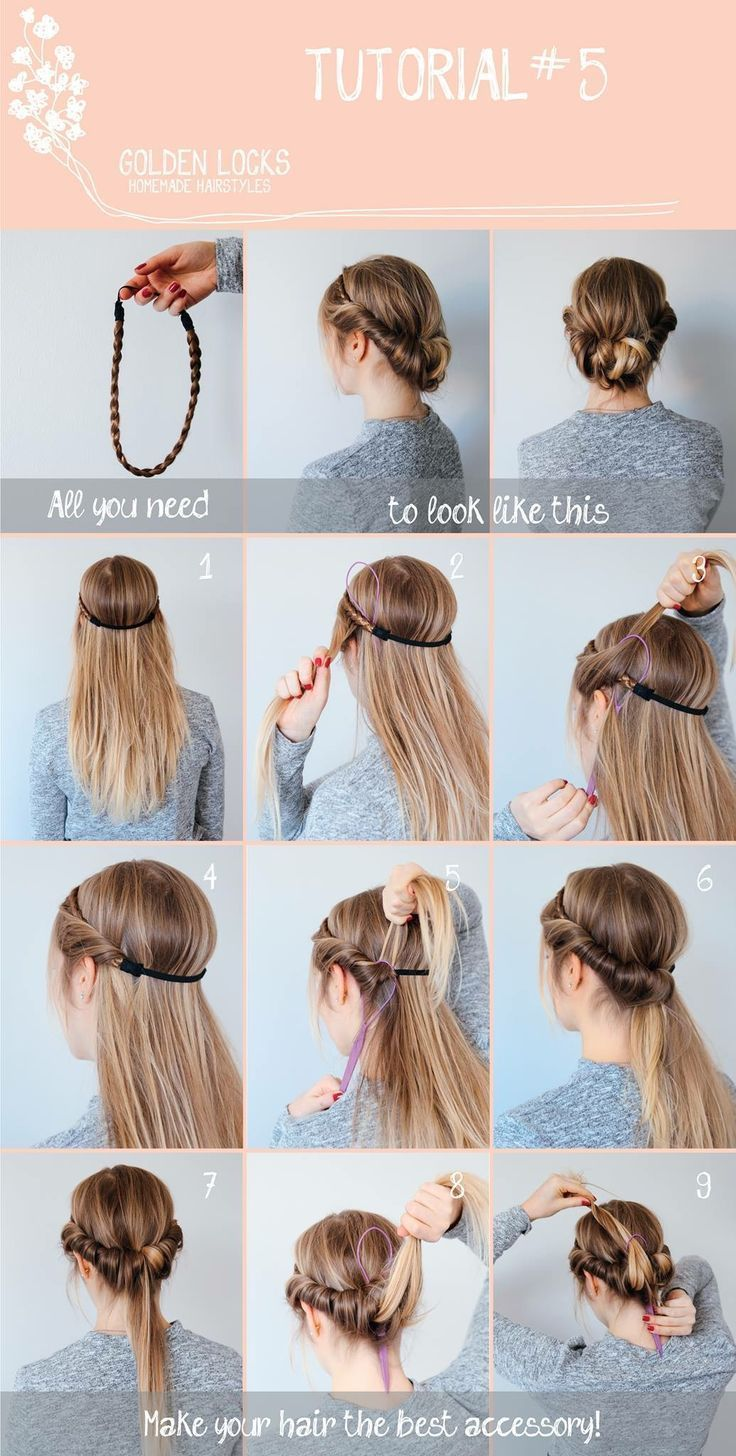 Haarband My Blog Haarband Haarband Hair Ideas For All Hair Lengths There Are Thousands Of Diffe In 2020 Hair Styles Long Hair Styles Diy Hairstyles