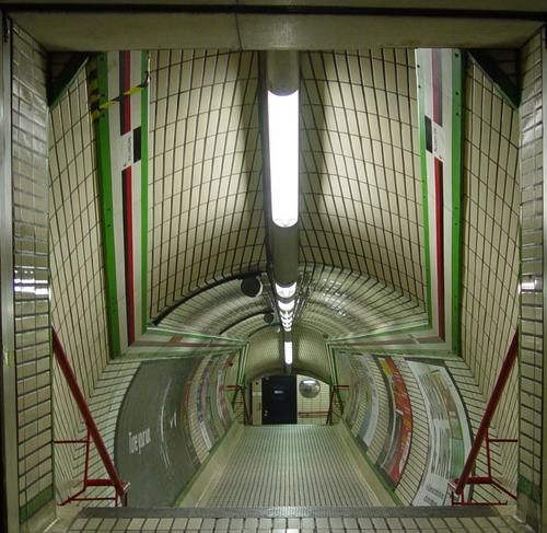 London, England underground