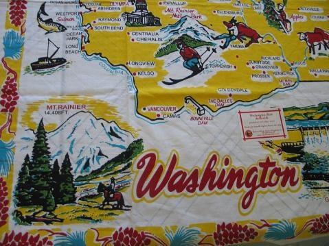 Vintage Flour Sack Towel