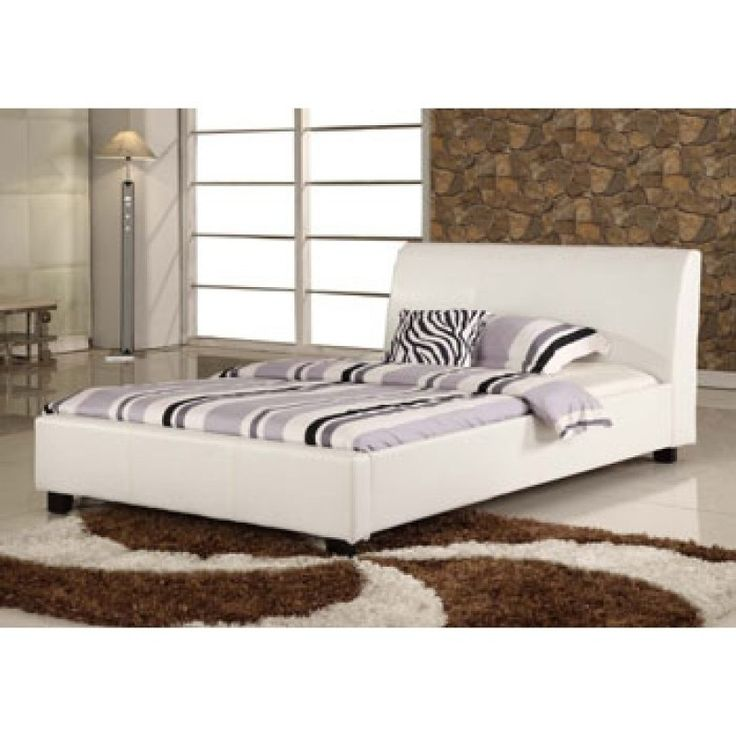 Mejores 90 imágenes de Leather Beds en Pinterest   Marco de la cama ...