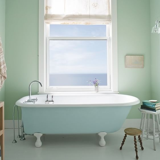 What Is The Best Paint To Use In A Bathroom: 81 Best Inspired Bathroom Paint Colors Images On Pinterest