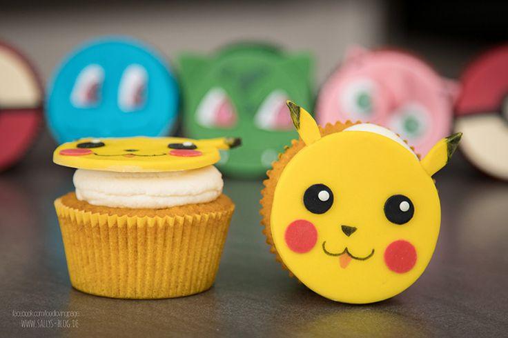 Pokemon Go Cupcakes / Cupcake Topper
