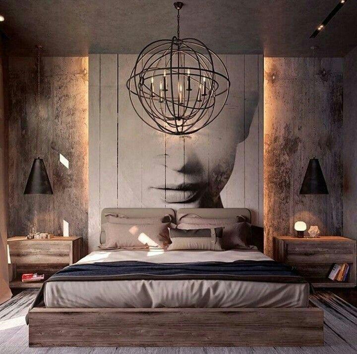 Home Decor Ev Dekoru Wohnung Mann Luxusschlafzimmer