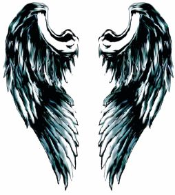Angel Wing Tattoo--I don't know why, but I really like this