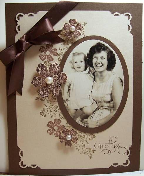 Vintage Mother's Day Stampin up, Vintage Vogue
