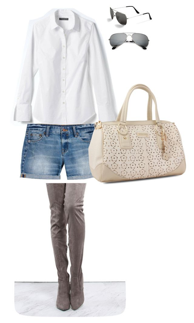 Chrissy Teagan by diydes on Polyvore featuring polyvore, fashion, style, Banana Republic, J.Crew, Miadora, Steve Madden and clothing