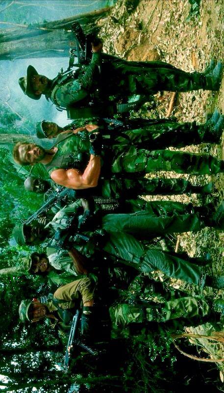 Predator - Arnold Schwarzenegger - Carl Weathers - Jesse Ventura - Bill Duke - Sonny Landham - Richard Chaves - Shane Black