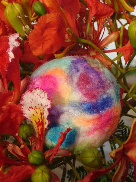 Belleza/Cuidado personal - Jabon con lana Aloe Vera Canaria - hecho a mano por pinnysoap en DaWanda