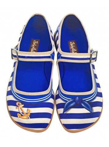 Sailor - Hot Chocolate Shoes <3