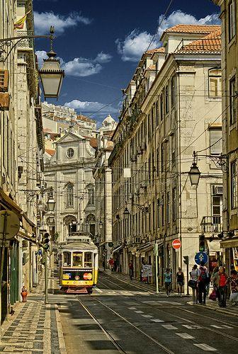 La Baixa. Lisboa. Portugal