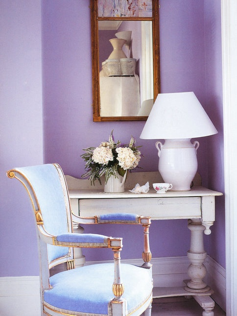 purple, lavender, lilac, violet, bedroom, interior design, interiors