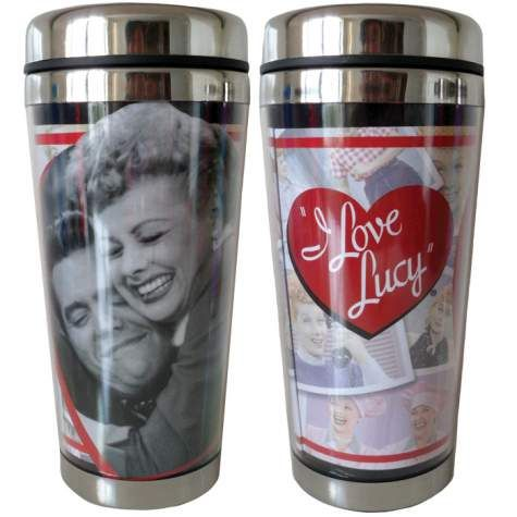 I Love Lucy Loving Memories Stainless Steel & Acrylic Travel Mug