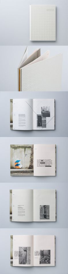 This brochure for Melbourne, Australia-based 1.1 Architects (pronounced One to One) is part of a bigger identity project designed by COÖP, also in Melbourne.