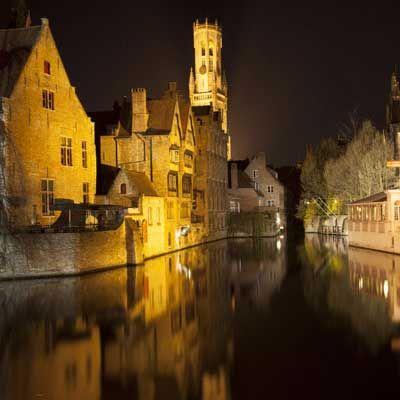 Le quai du Rosaire, un incontournable de Bruges.