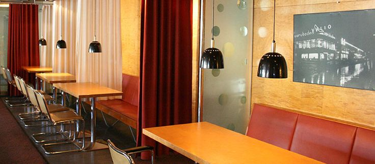 Café Lasipalatsi, one of my favourite cafes in Helsinki.
