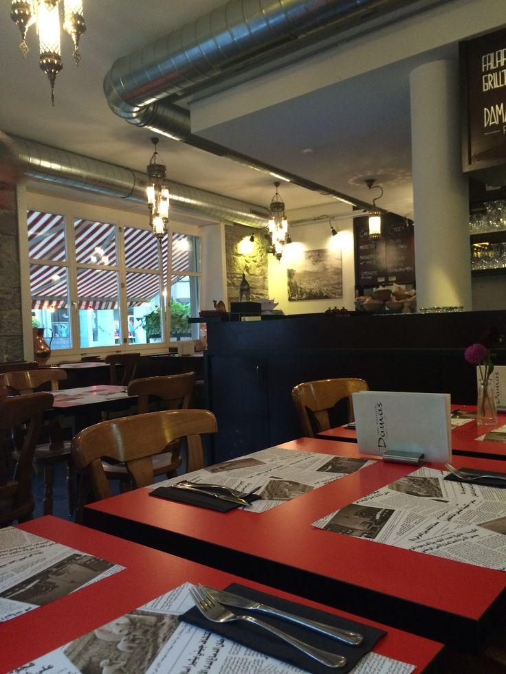 Damas Quellstrasse, Zürich Westafrikanisches Essen