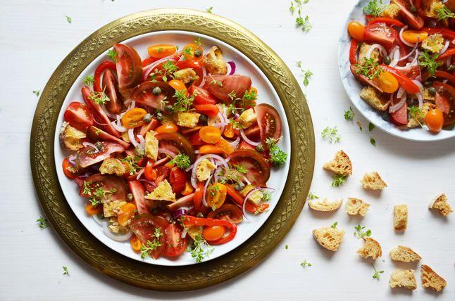 Kublanka vaří doma - Panzanella