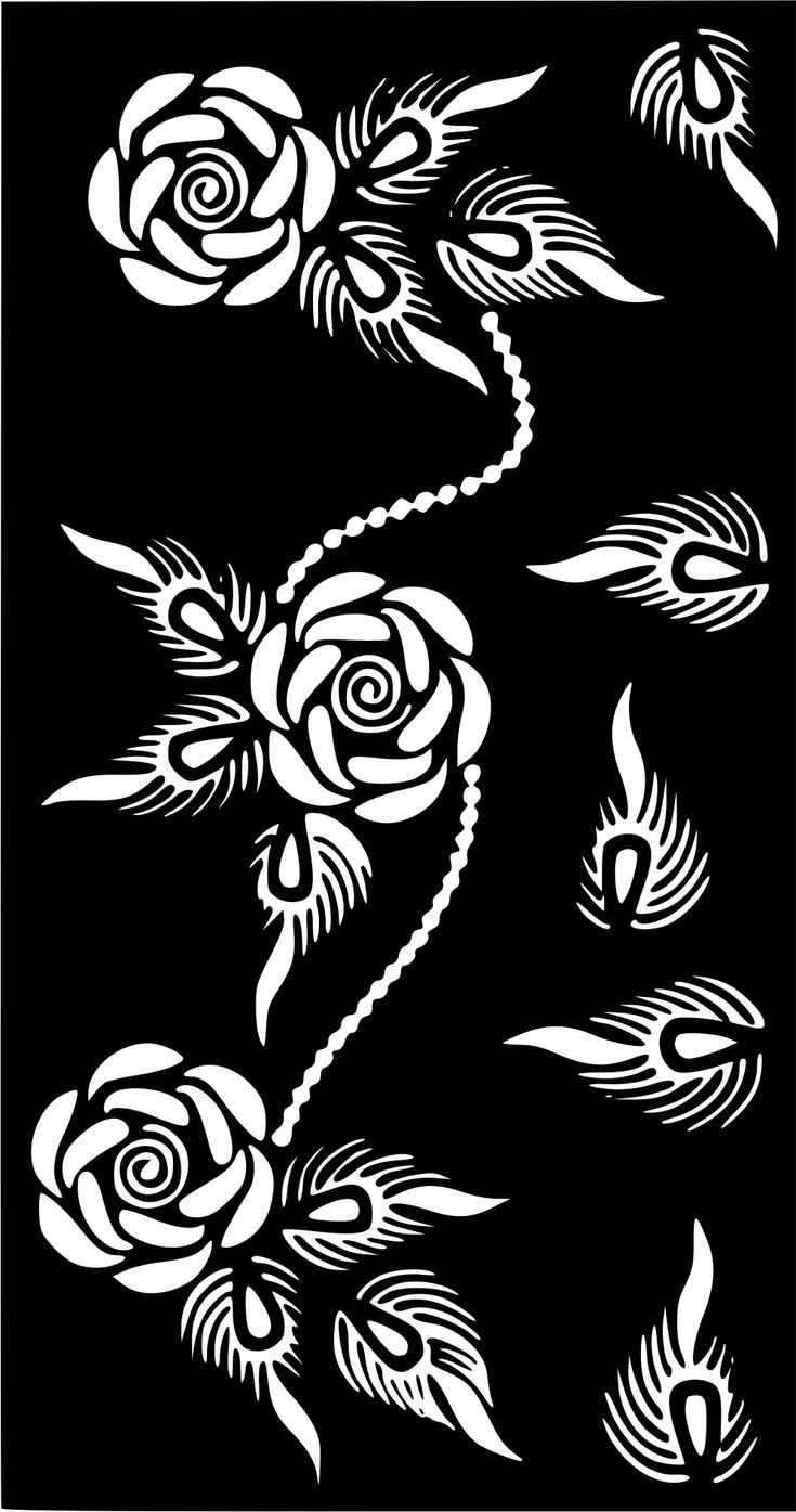 Temporary Tattoo Stencils Henna: Henna Temporary Tattoo Body Art Sticker Stencil