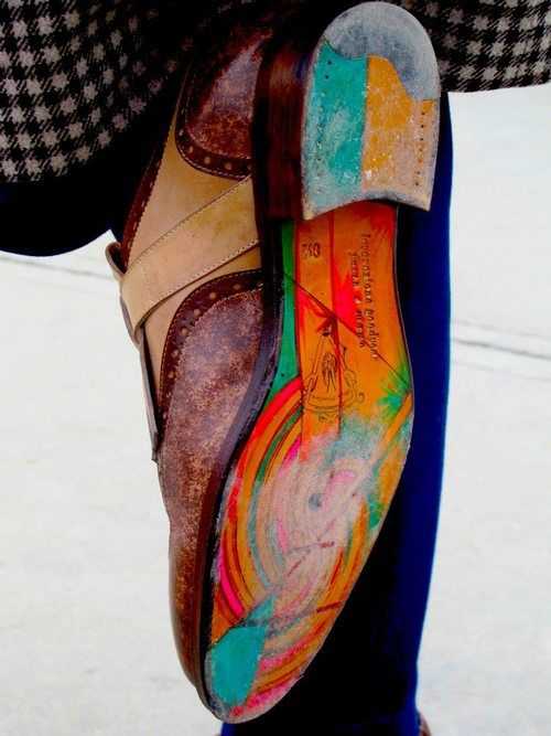 Colour in my sole #JustBuyTheShoes