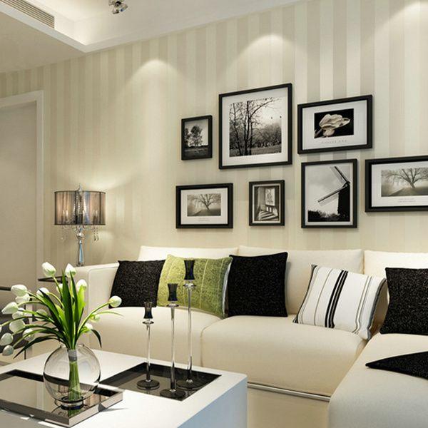 Europa rayas papel pintado simple papel tapiz de tela para - Papel pared rayas verticales ...