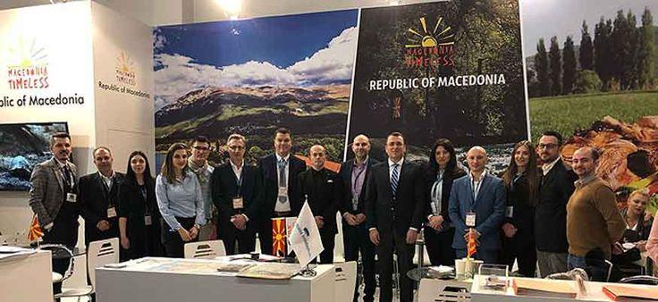 Macedonia promoted at Berlin travel fair