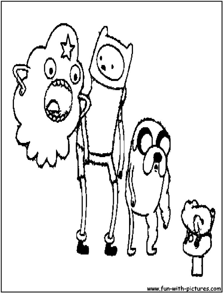 Adventure time finn and jake free coloring pages for Finn and jake coloring pages