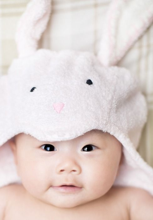 A little asian bunny who love cream kc 5