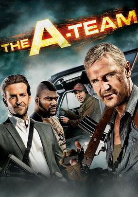THE A-TEAM (2010): A group of Iraq War veterans looks to clear their name with the U.S. military, who suspect the four men of committing a crime for which they were framed.