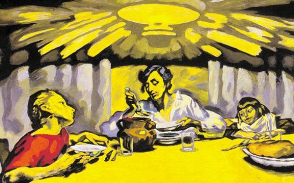 J.F.Willumsen - yellow and bright