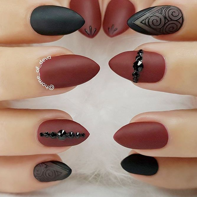 Most Popular and Trendy Nails Shapes for Glamorous Look ❤️ Luxury Stiletto Nails Ideas picture 1 ❤️ The importance of nails shapes is great since a wrongly picked one can ruin the whole manicure. But that does not mean that you cannot experiment! https://naildesignsjournal.com/popular-nails-shapes/ #nails #nailart #naildesign
