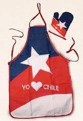 delantal cocina chile