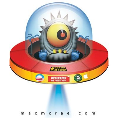 Flying saucer for Onesie