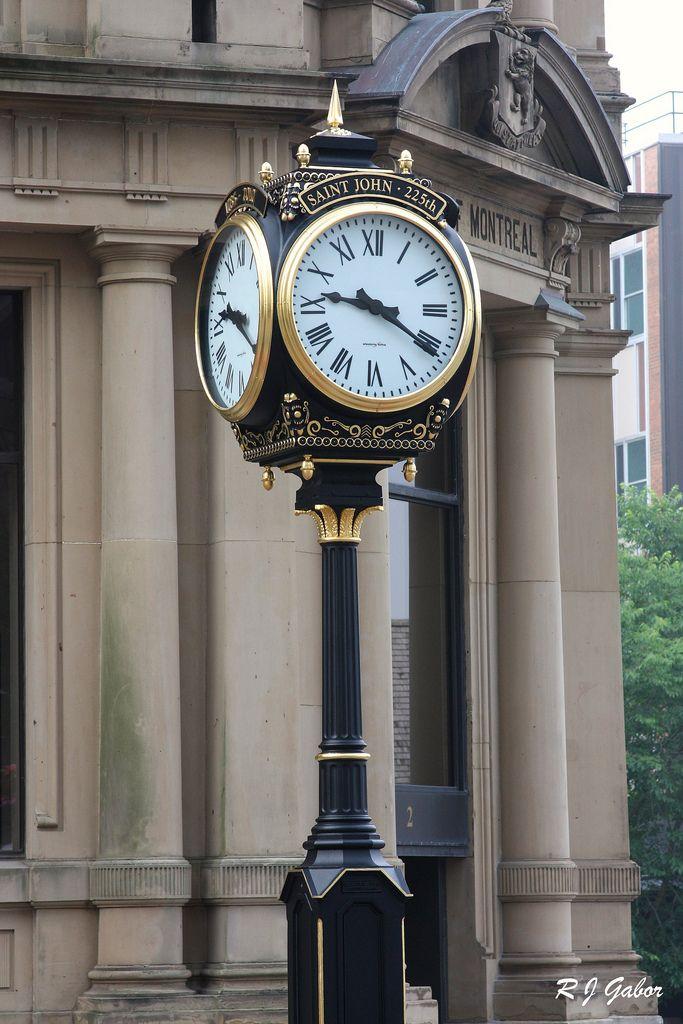 St. John New Brunswick Clock